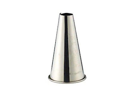 Munnstykke glatt 12 mm stål