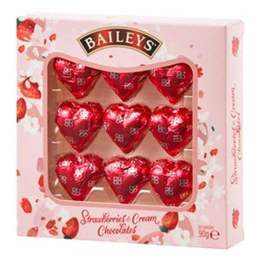 Baileys Strawberries & Cream Chokladhjärtan - 90 g
