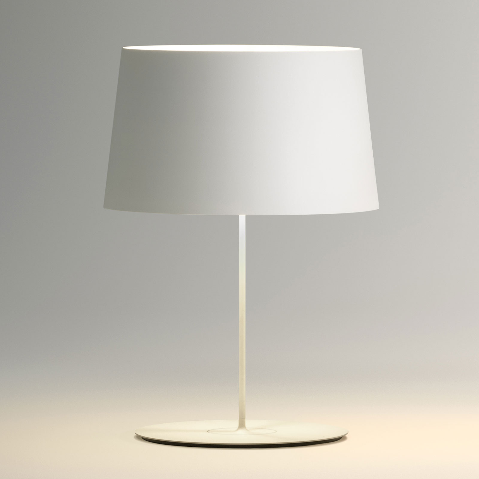 Vibia Warm 4901 pöytälamppu, 42 cm, valkoinen