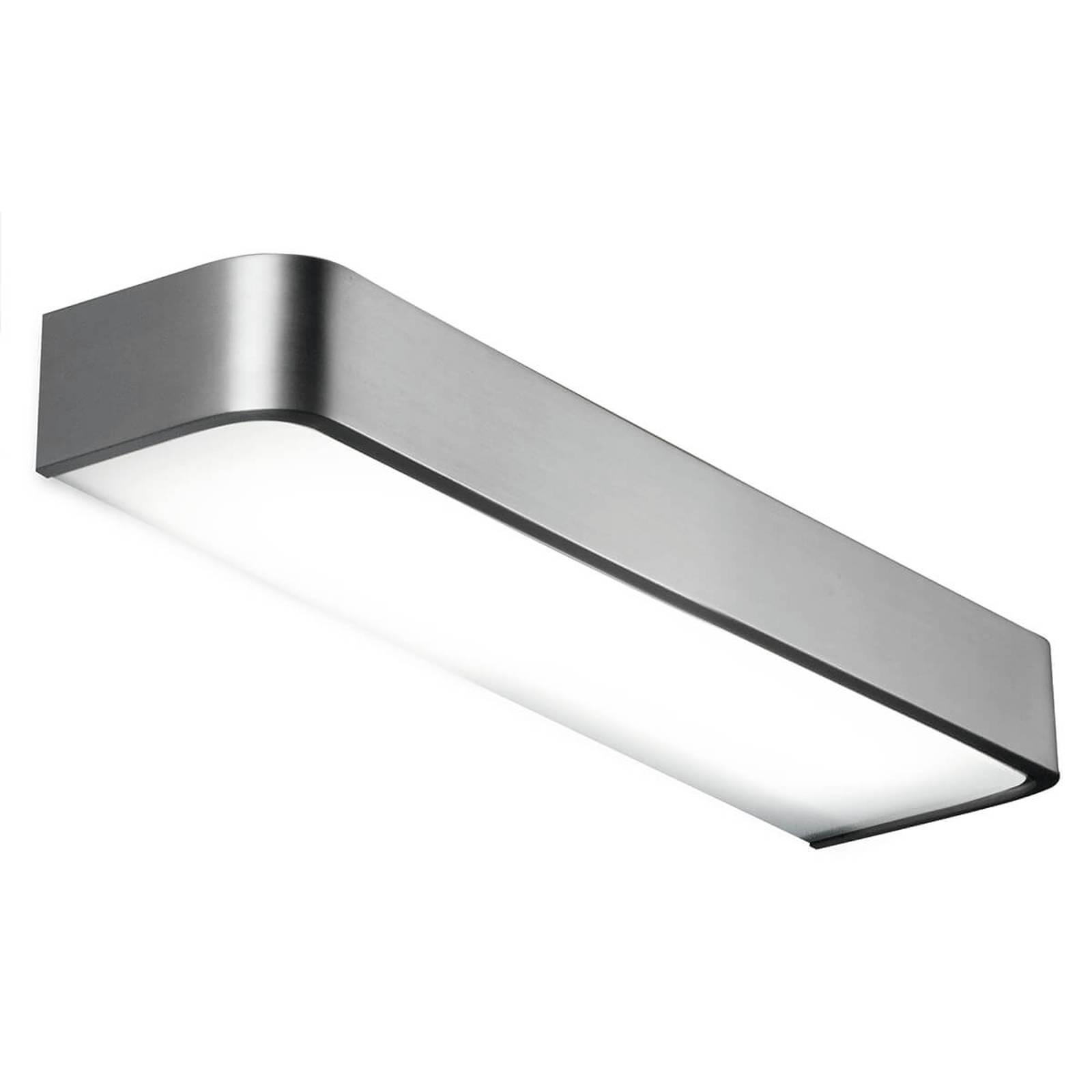 Kylpyhuoneen seinävalaisin Arcos LED 60 cm nikkeli