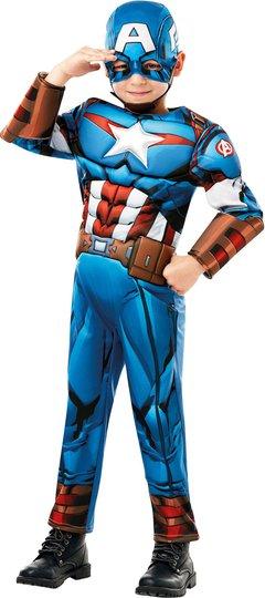 Marvel Avengers Kostyme Captain America 9-10 år