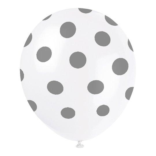 Ballonger Silver Prickiga - 6-pack