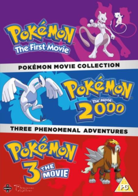 Pokémon Movie Collection DVD - UK Import