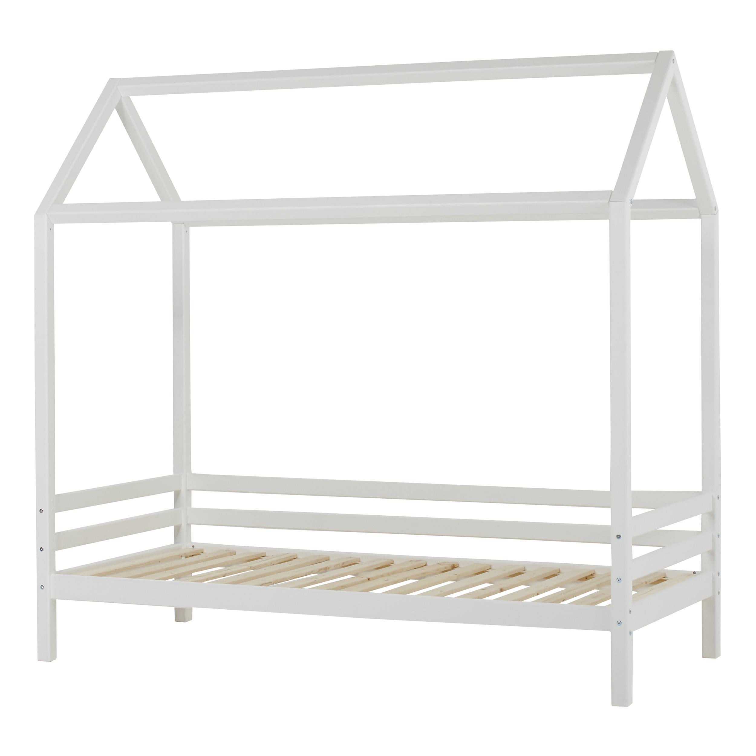 Hoppekids - BASIC House bed 90 x 200 cm - White