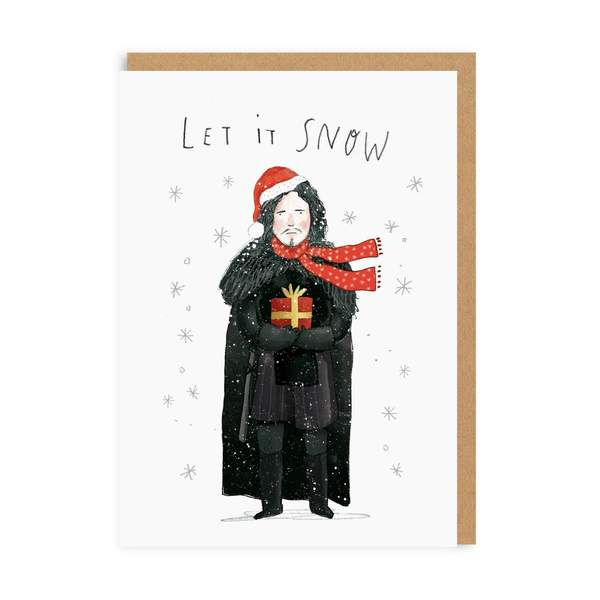 Let It Snow - Jon Snow Christmas Card