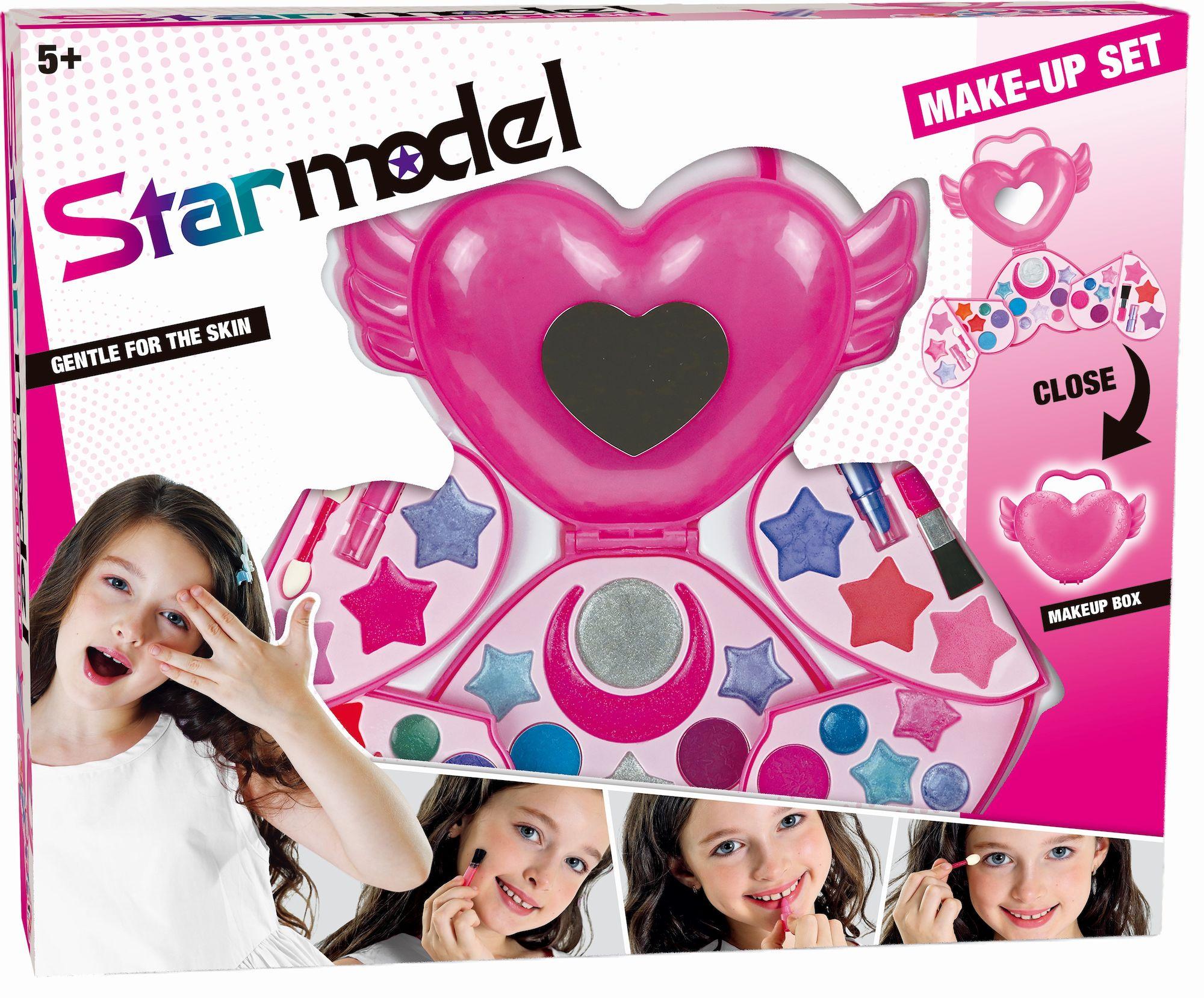 Starmodel Sminkset Hjärta
