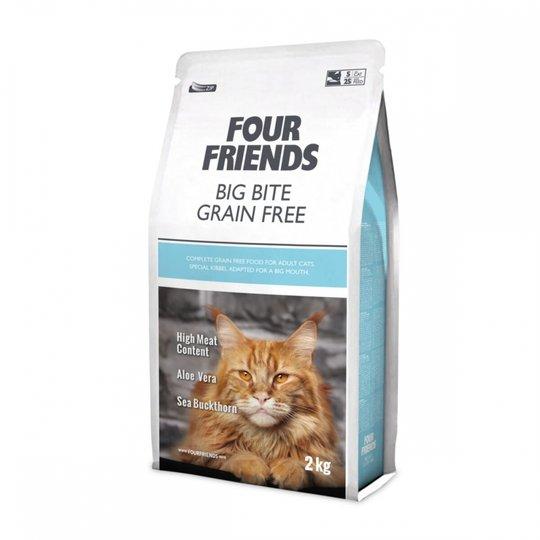 FourFriends Cat Big Bite Grain Free (2 kg)