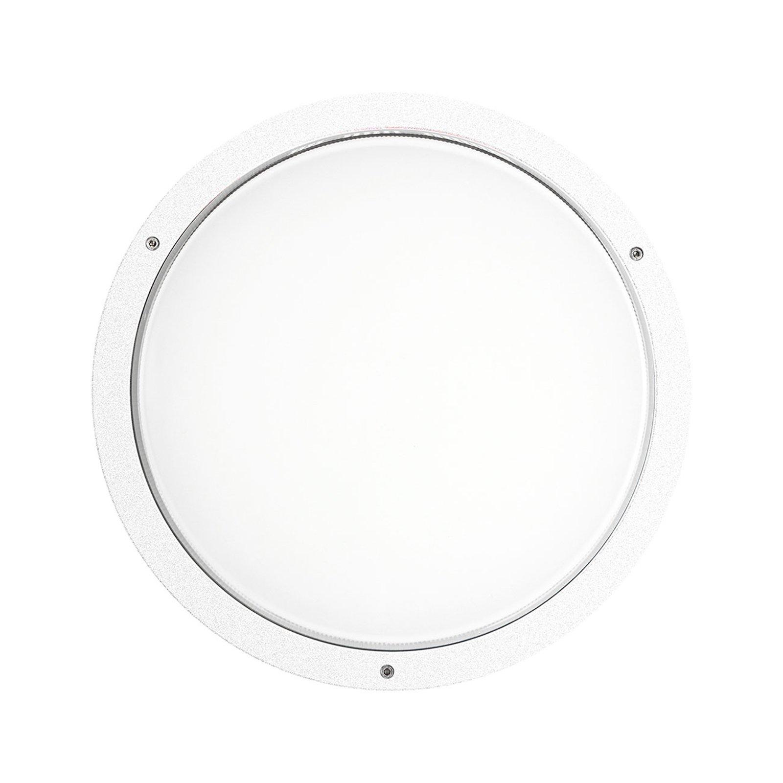 Vegglampe Bliz Round 40 3 000 K, hvit dimbar