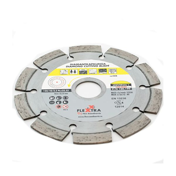 Flexxtra 100199 Diamantklinge 125 mm