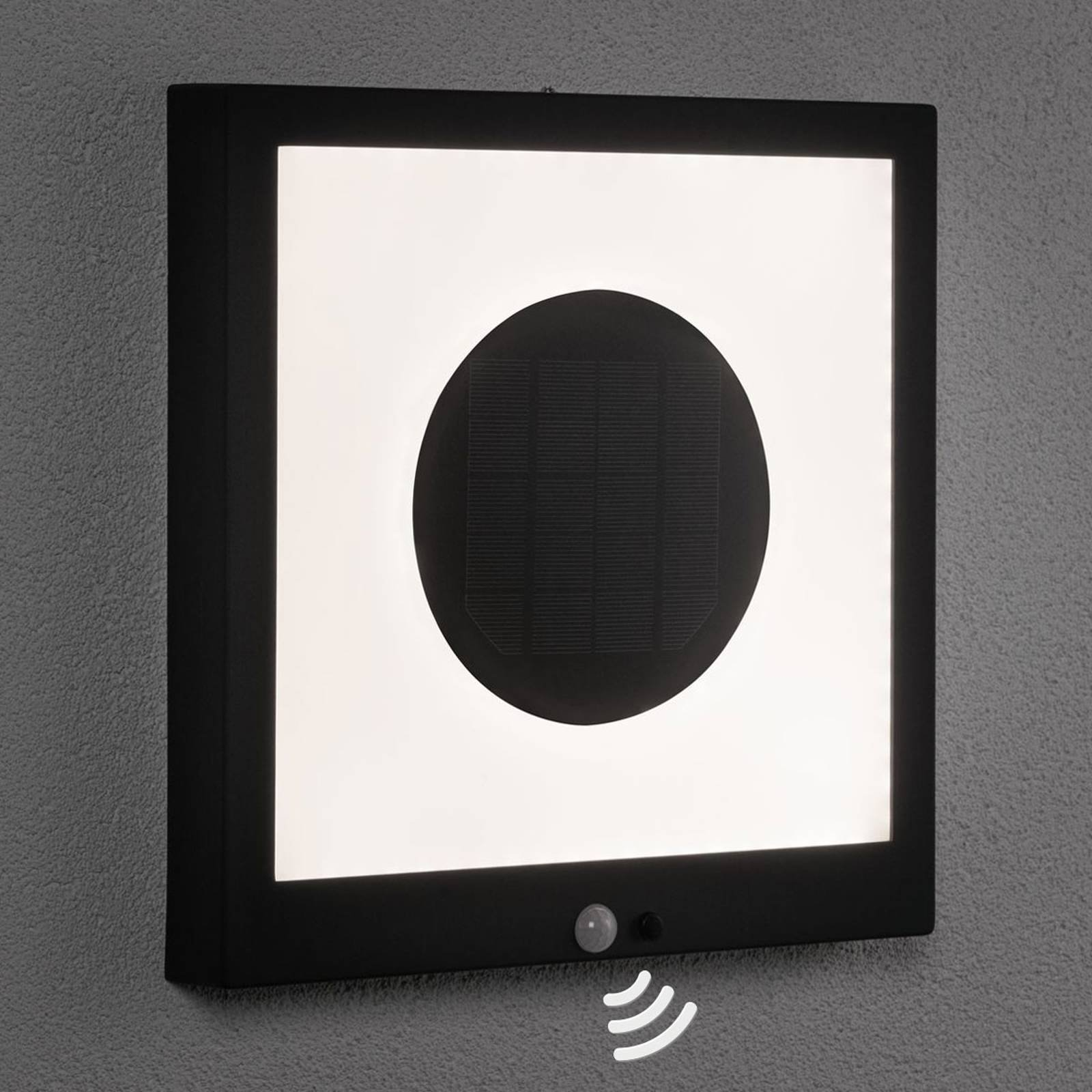 Paulmann LED-solcellepanel Taija sensor 30 x 30 cm