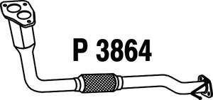 Pakoputki, Edessä, MITSUBISHI PAJERO PININ, MR464778