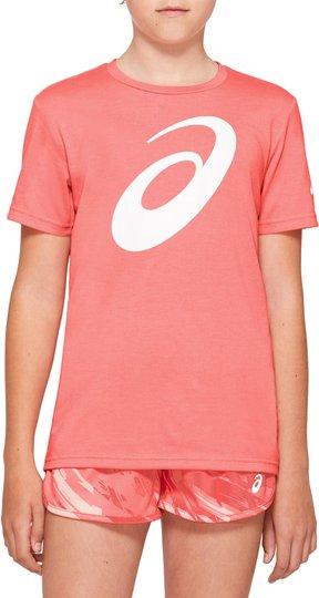 Asics Big Spiral T-shirt, Guava, S