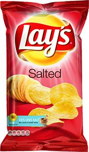 LAY'S SALTED 175g HELLÅDA