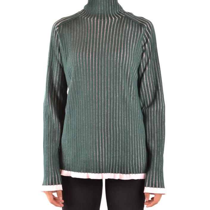 Burberry Women's Sweater Green 167568 - green L