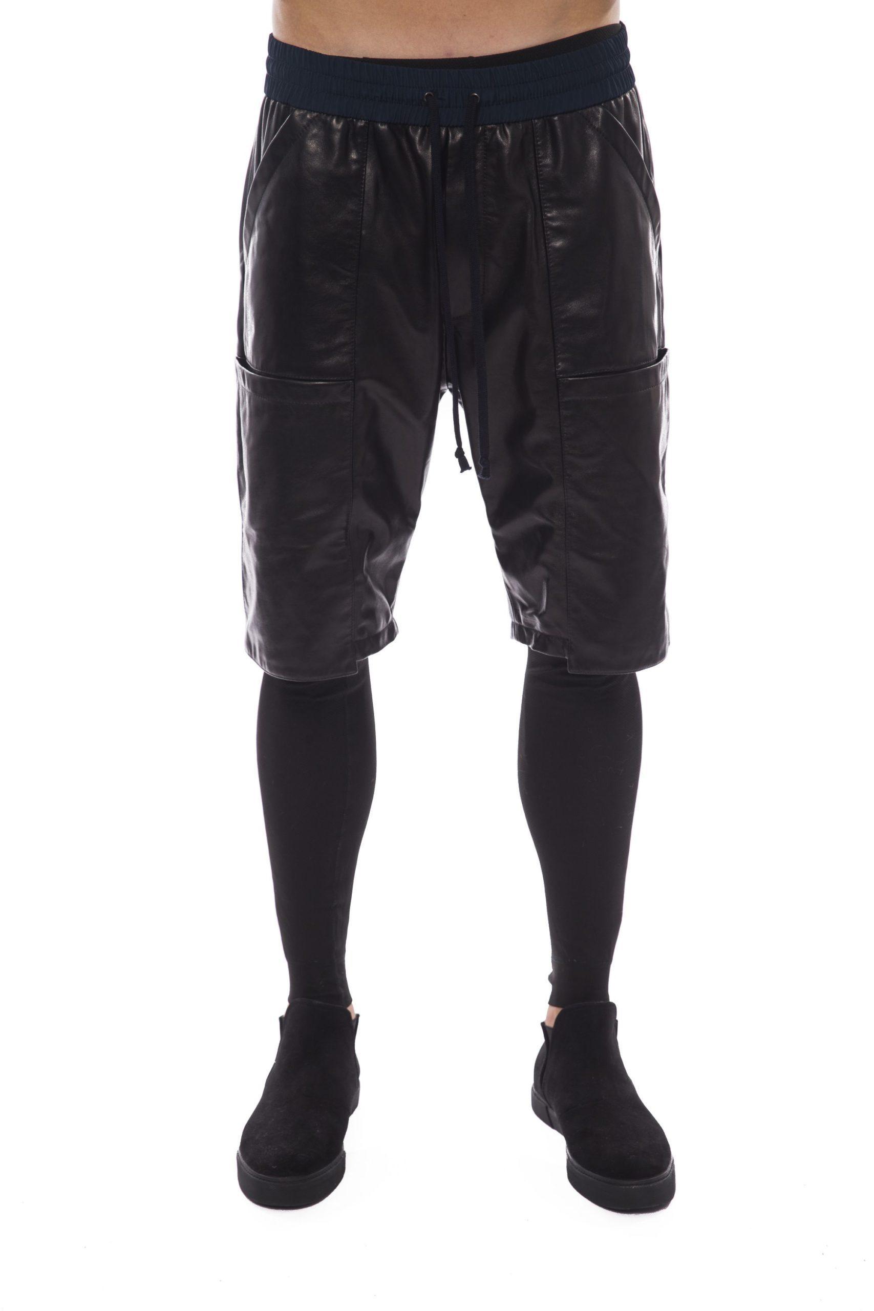 Nicolo Tonetto Men's Nero Shorts Black NI1394705 - L