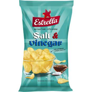 SALT VINÄGER CHIPS 175 GR