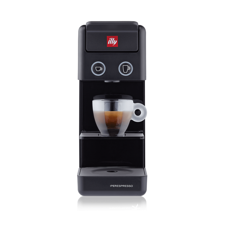 illy - Y3.3 Iperespresso - Espresso & Coffee Machine - Black