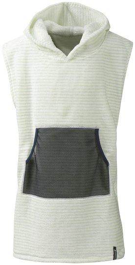 Didriksons Pier Poncho, Split Green Simple Stripe, 80-90