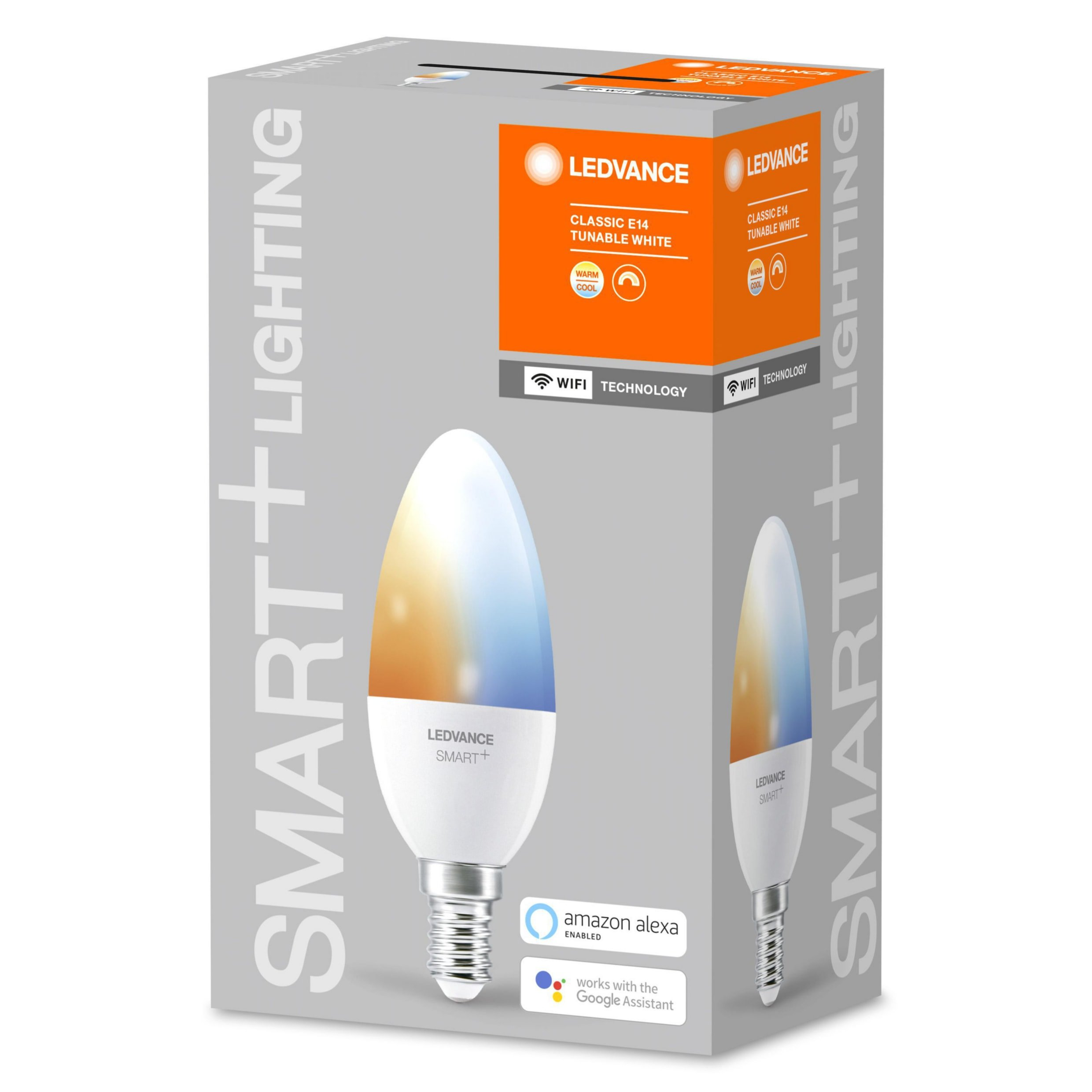 LEDVANCE - SMART+ candle 40W/2700-6500 frosted E14 WiFi