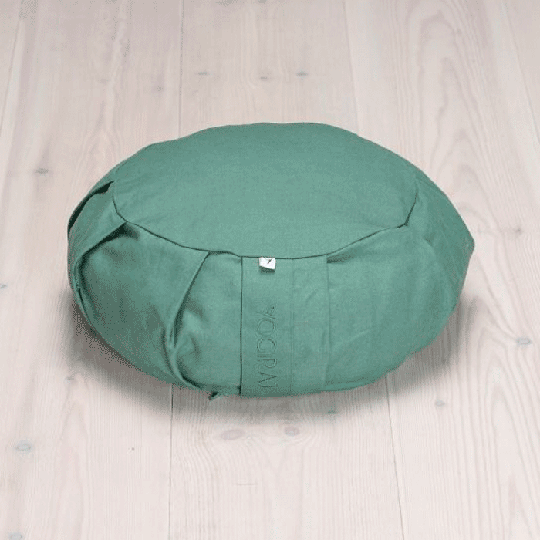 Meditation Cushion Round, Moss Green