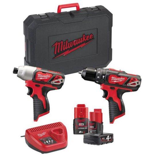 Milwaukee M12 BPP2B-421C Työkalupaketti