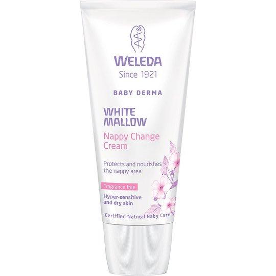 Weleda Baby Derma White Mallow Nappy Change Cream, 50 ml Weleda Kosteusvoide lapsille