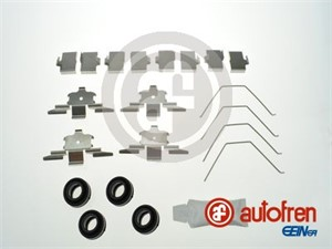 Tarvikesarja, jarrupala, Etuakseli, MAZDA 6 Hatchback, 6 Kombi, 6 Sedan, GSYD3329ZB