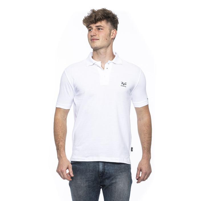 19v69 Italia Men's Polo Shirt White 185426 - white XXL