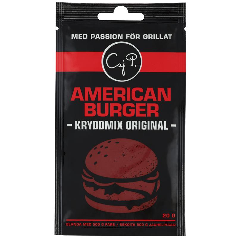 American burger Kryddmix Orginal - 44% rabatt