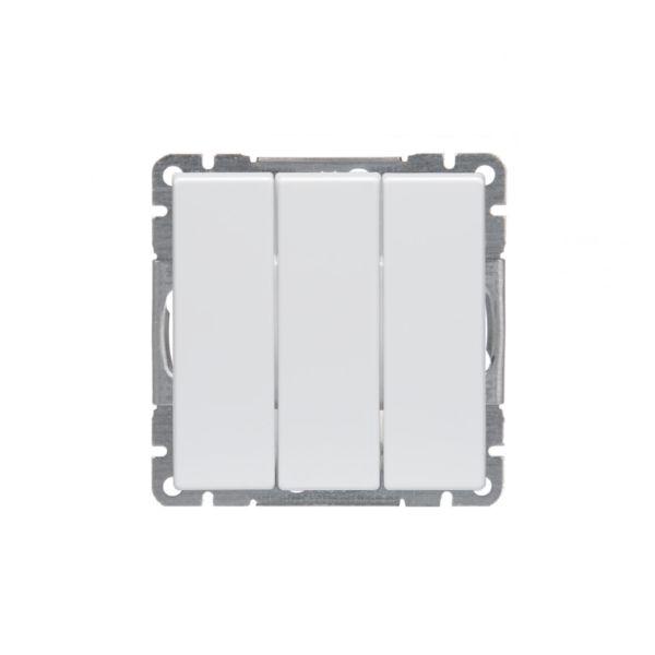 ABB Impressivo Kytkin valkoinen 3x1-napainen