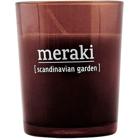Scandinavian Garden Scented Candle, Meraki Tuoksukynttilät