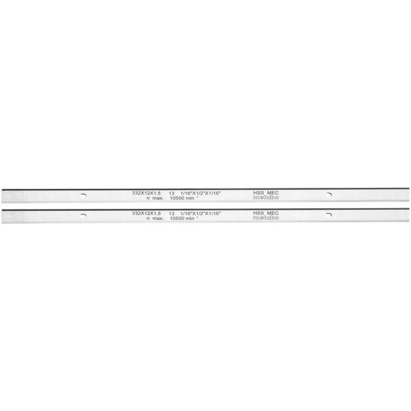 Metabo 0911063549 Höyläterä HSS, 2 kpl