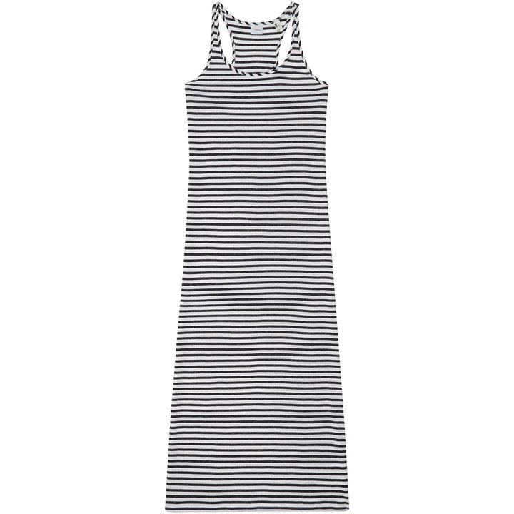 O'Neill Women's Racerback Jersey Dress White Black 8718705921811 - M Black White