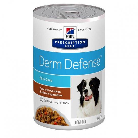 Hill's Prescription Diet Canine Derm Defense Skin Care Stew Chicken & Vegetables 354 g