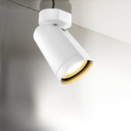 Kierrettävä kattospotti LED Bilas 1 lamppu valk.