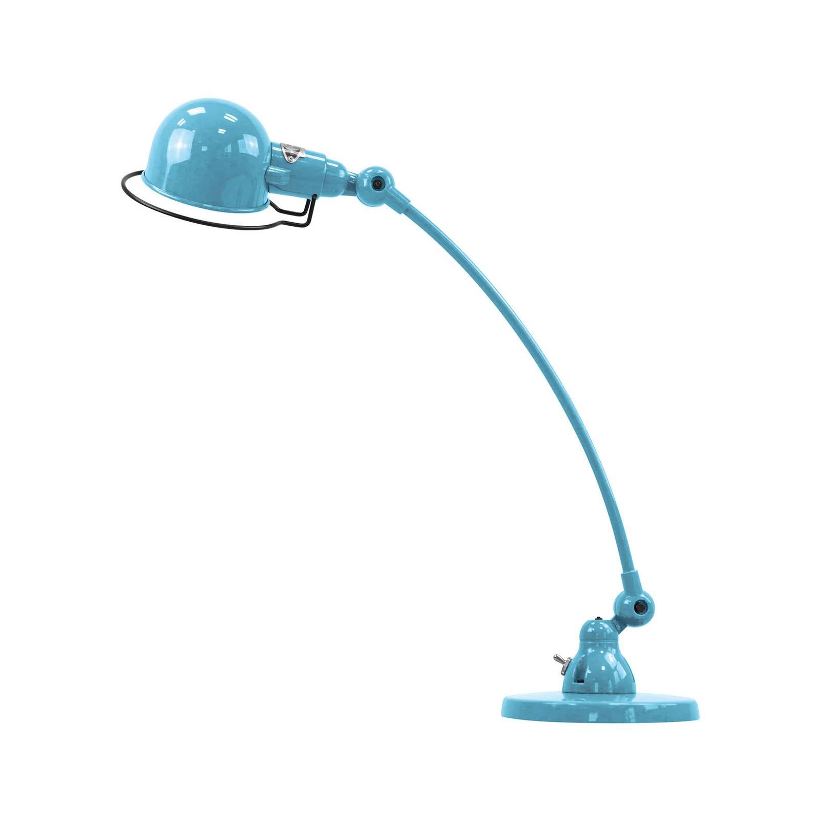 Jieldé Signal SIC400 -pöytälamppu, jalka, sininen
