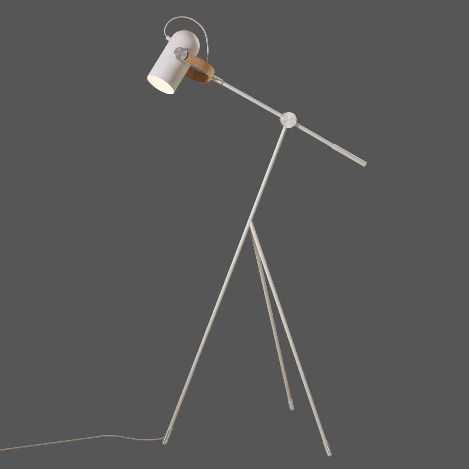 LE KLINT Carronade Low - sandfarget gulvlampe