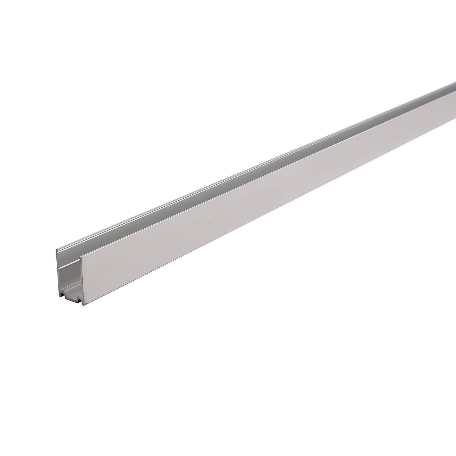 Aluprofiili D Flex Line Side View LED-nauhaan 1 m