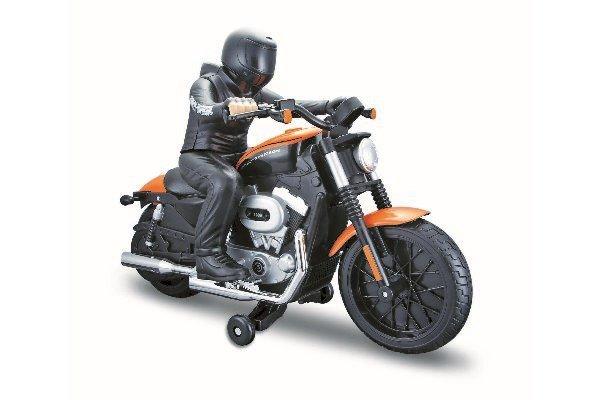 Maisto - Harley Davidson R/C with Rider 27/40Mhz - Orange (140012)