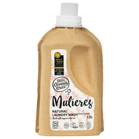 Mulieres Naturligt Tvättmedel Rose Garden, 1,5 L
