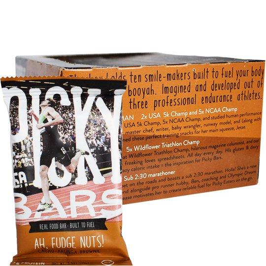 Hel Låda Energibars Fudge Nuts 10-pack - 41% rabatt