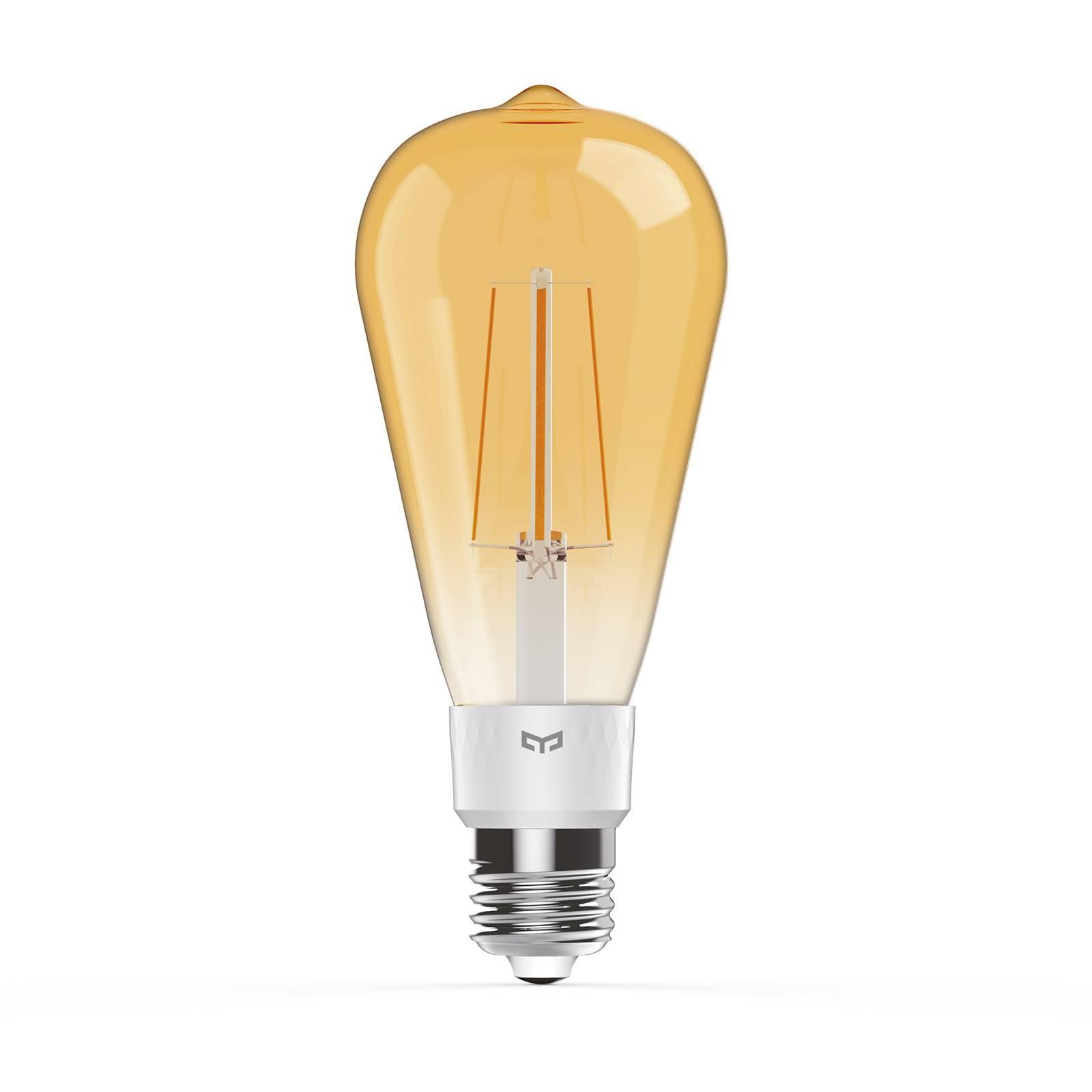 Yeelight Smart-LED-lamppu E27 6W Filament 2 000 K