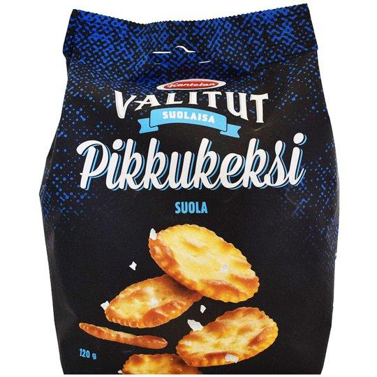 """Kex Saltade """"Crackers"""" 120g - 14% rabatt"""