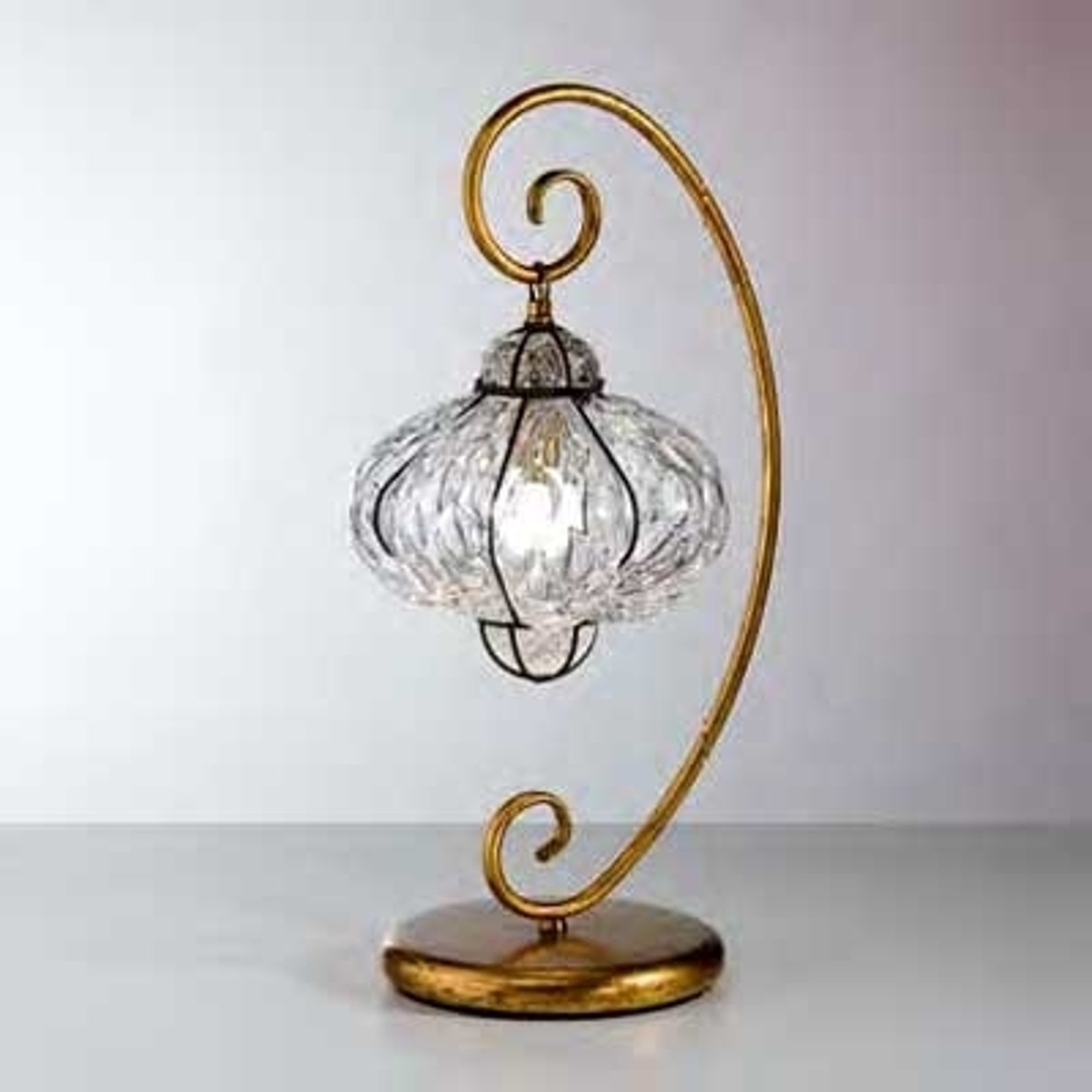 Orientalsk bordlampe SULTANO, håndlaget