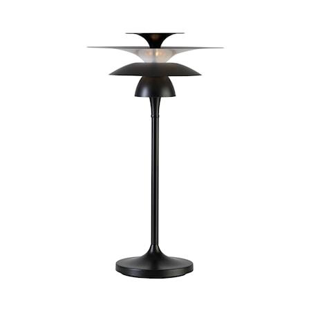 Picasso Bordslampa Mattsvart LED 62x35 cm
