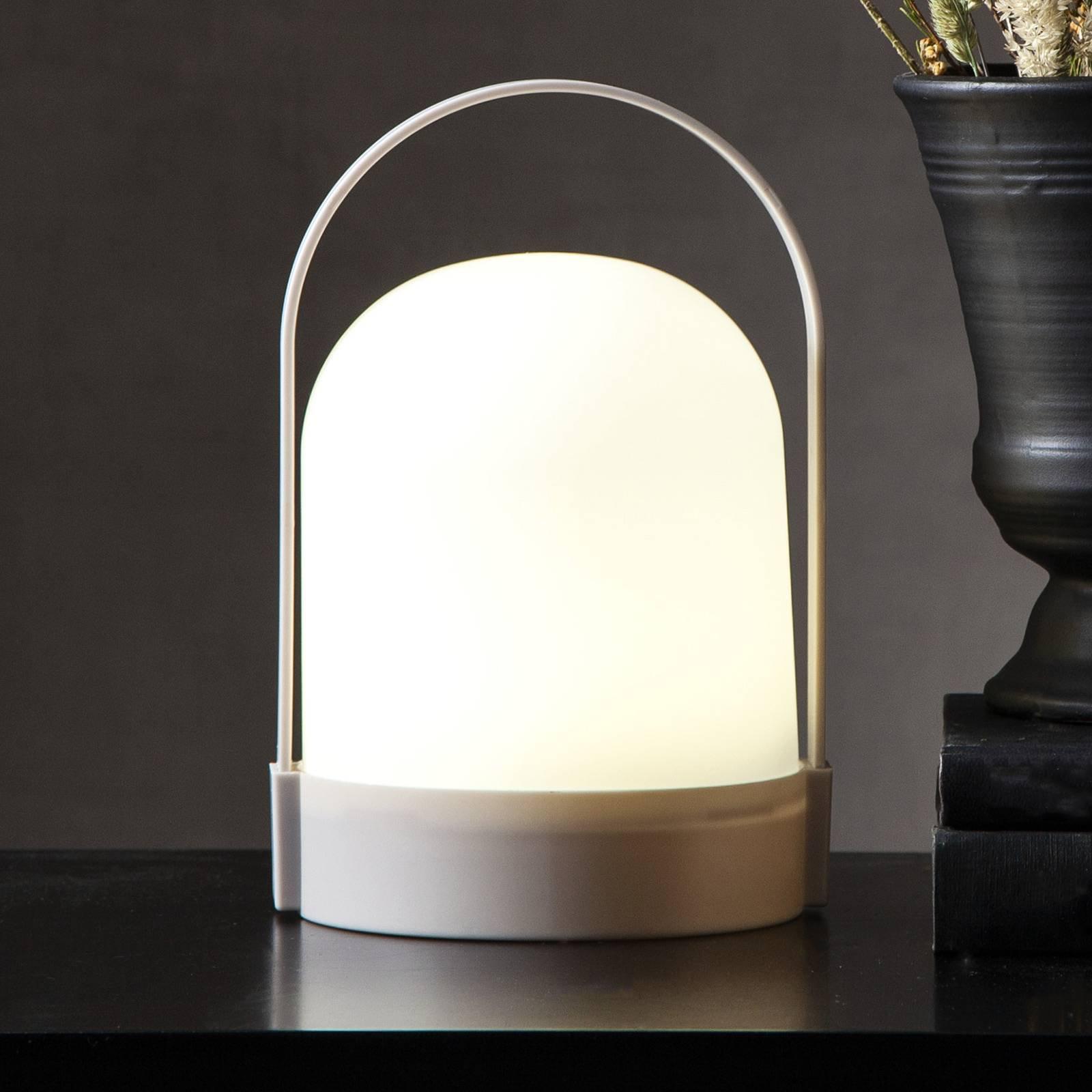 LED-bordlampe Lette med timer, batteridrift