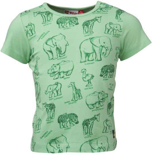LEGO Wear T-Skjorte Trey 403, Light Green str 68