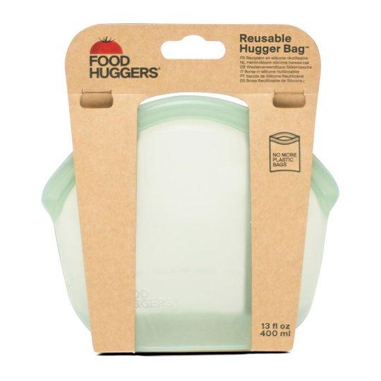 Food Huggers Hugger Bag Förvaringspåse Silikon - Juniper Clear