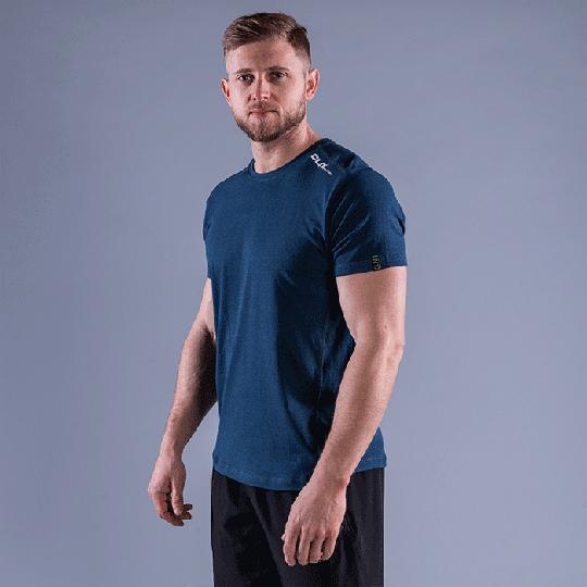 CLN Trap Bamboo T-shirt, Titan Blue