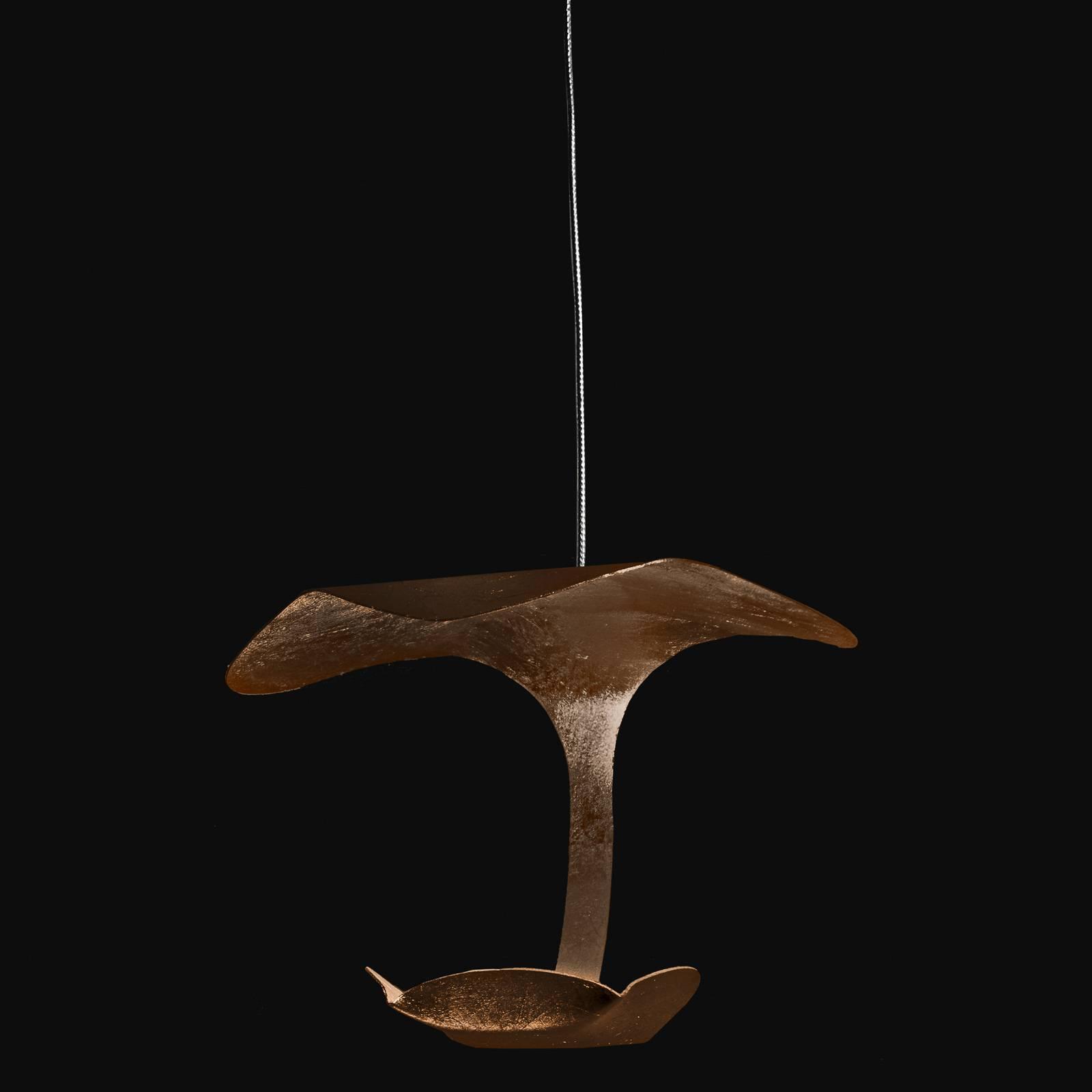 Knikerboker Le Gigine -LED-valo 1-lamp. pronssi